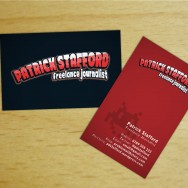 Patrick Stafford - business cards