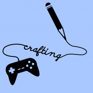 Crafting Podcast Logo